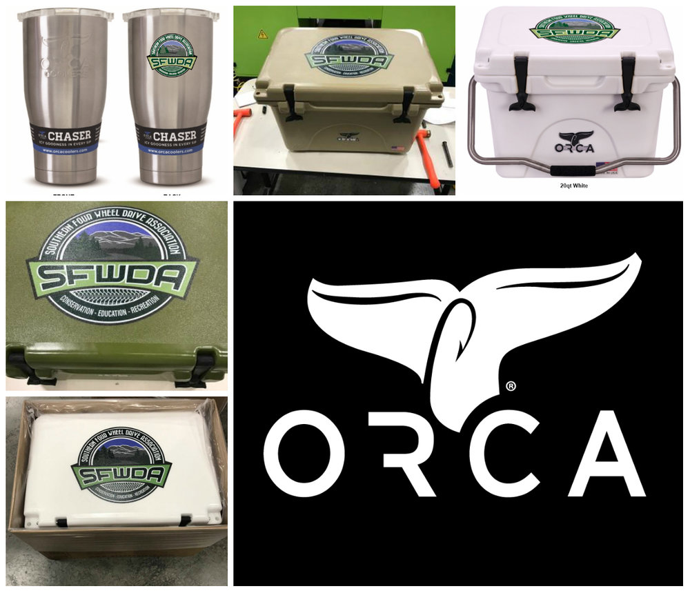Our co-branded ORCA products coming soon for SFWDA Members.