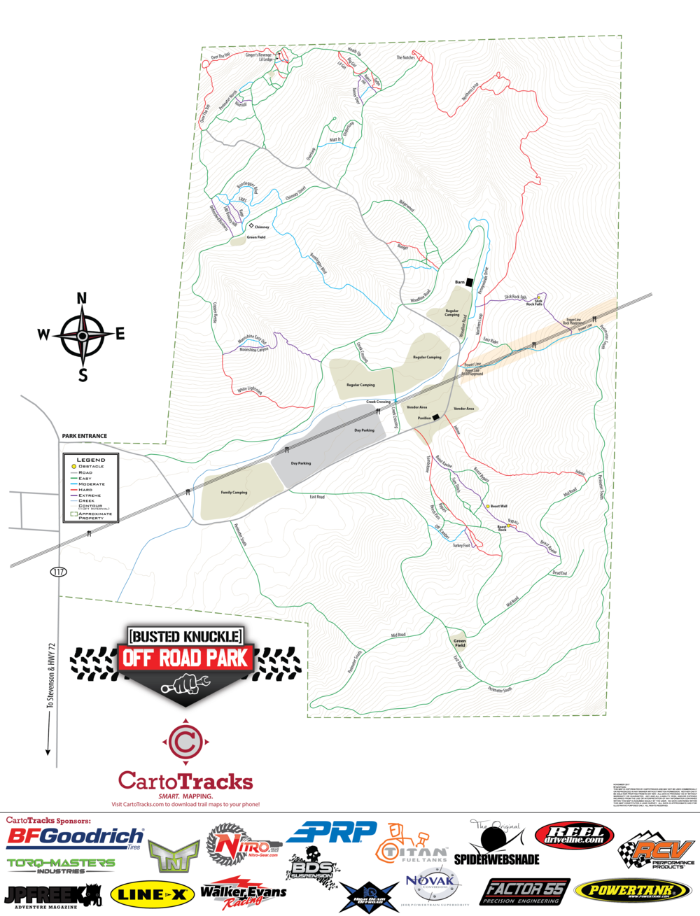 Smart Digital Maps Available from Cartotracks.com