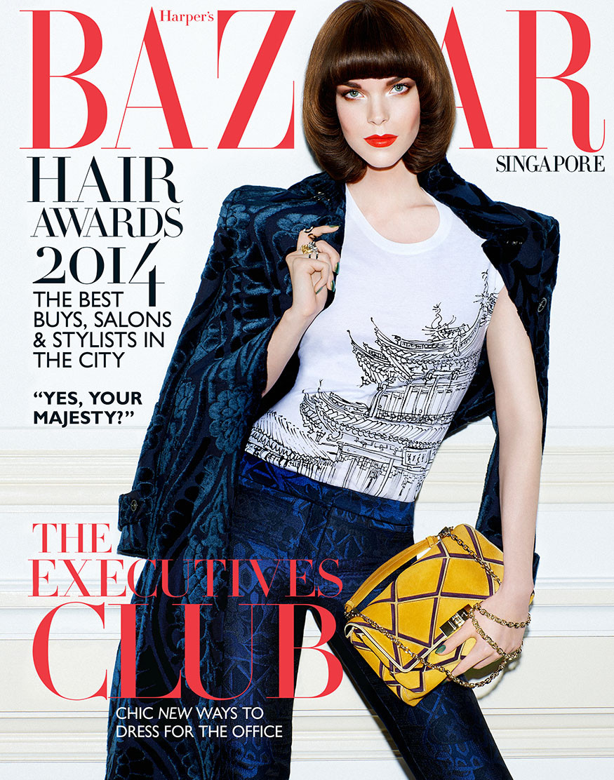 Meghan Collison for Harper's Bazaar