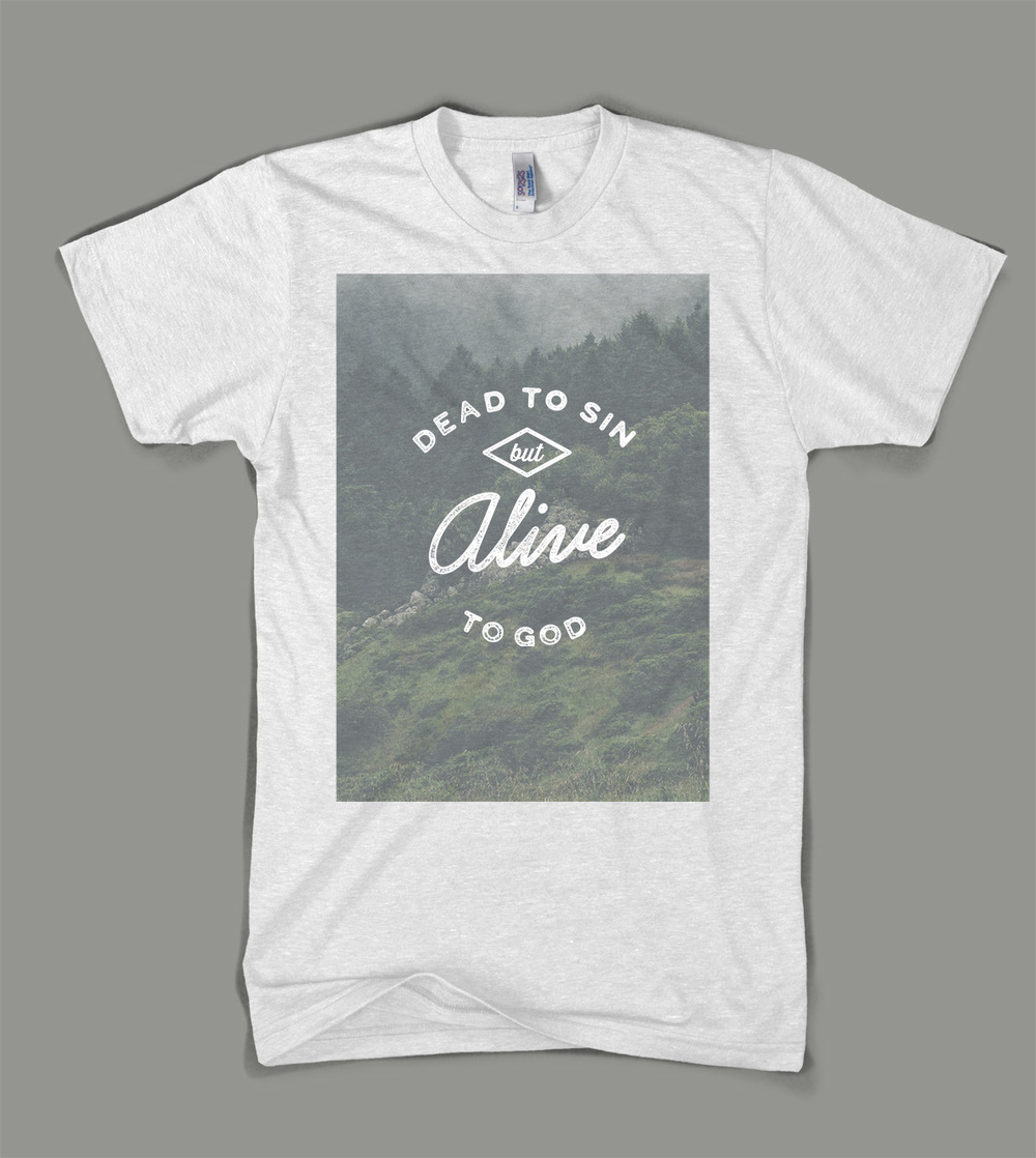 Bear Creek Camp: Dead to Sin shirt | Shane Harris - Melbourne Florida Graphic Design