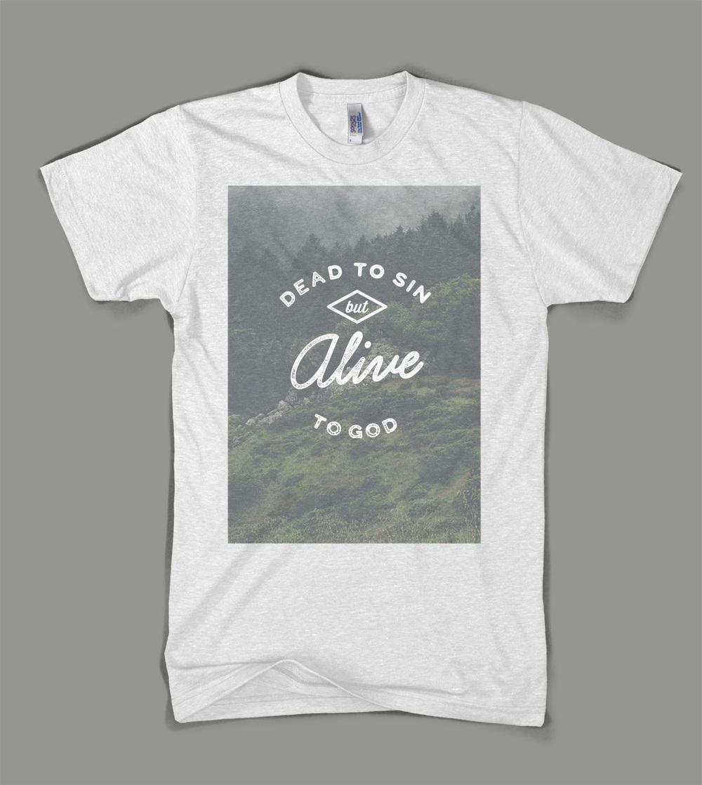 Bear Creek Camp: Dead to Sin shirt | Shane Harris