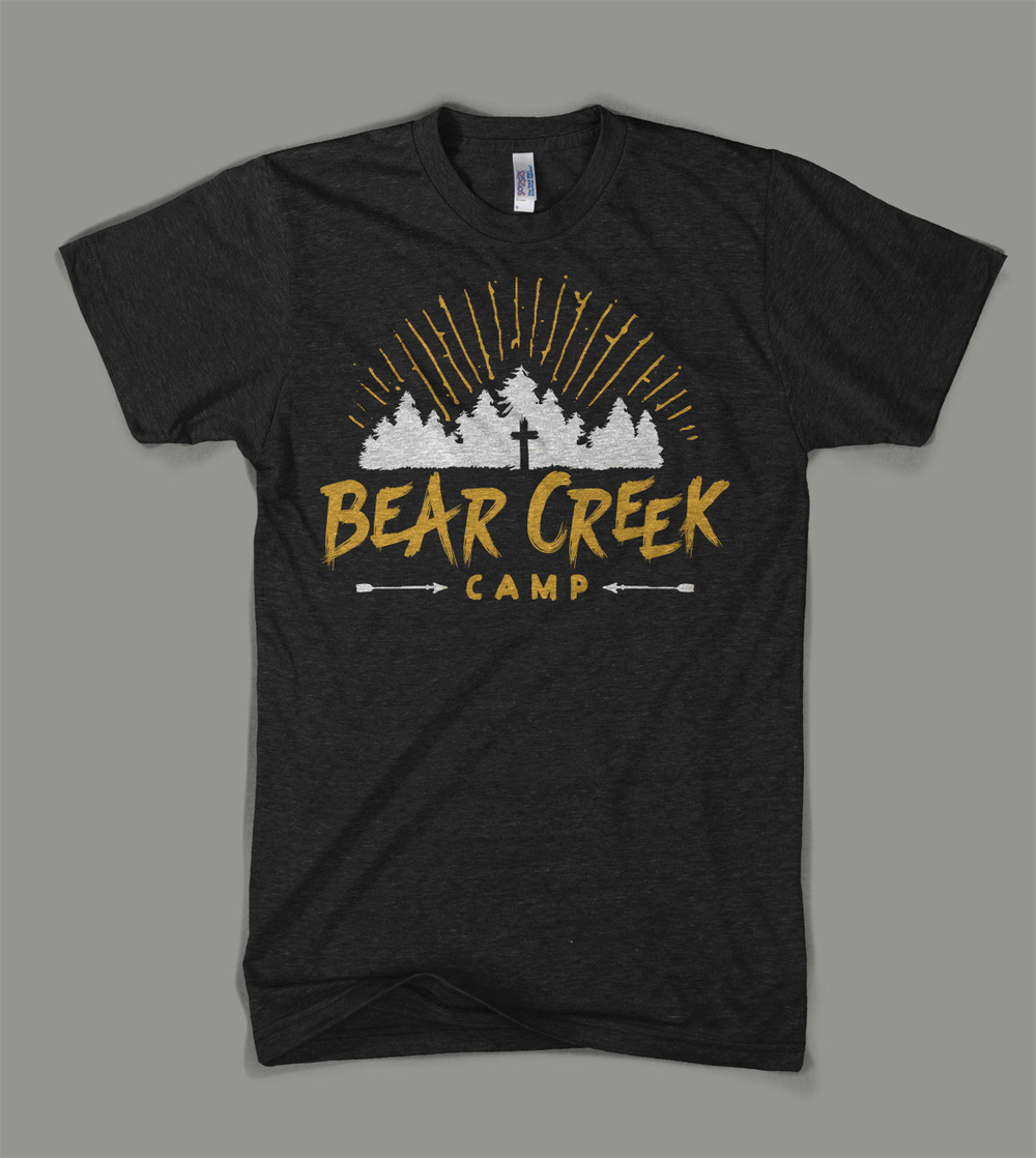 Bear Creek Camp: Camp Trees shirt | Shane Harris - Melbourne Florida Graphic Design