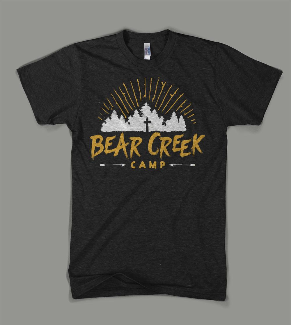 Bear Creek Camp: Camp Trees shirt | Shane Harris