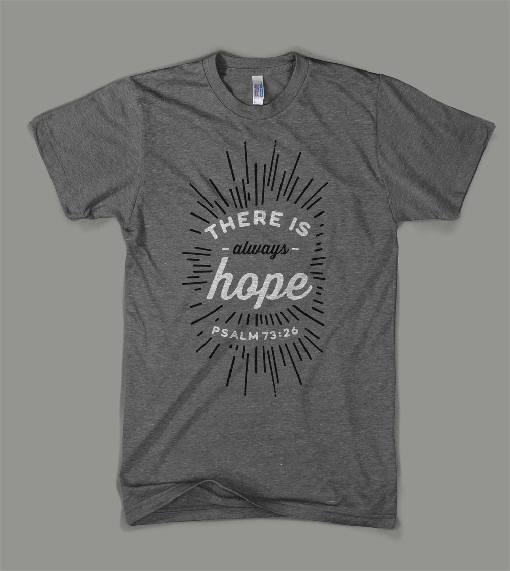 Bear Creek Camp: There is Always Hope shirt | Shane Harris - Melbourne Florida Graphic Design
