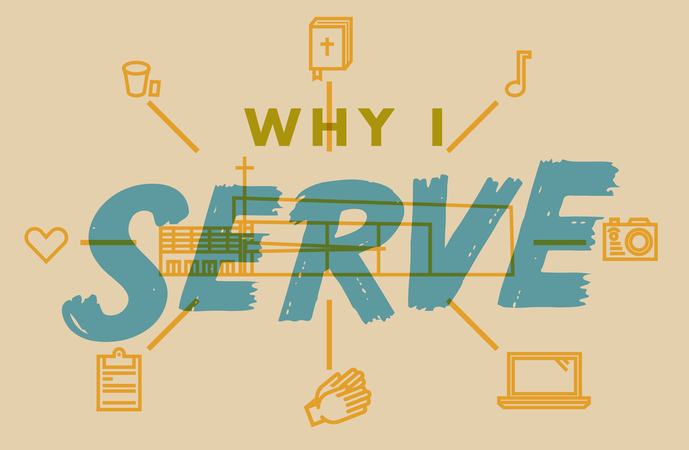 Southeast Christian Church Monthly Newsletter Art: Why I Serve