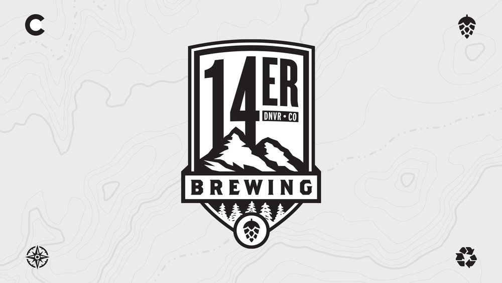 14er Brewing Co - Logo | Shane Harris