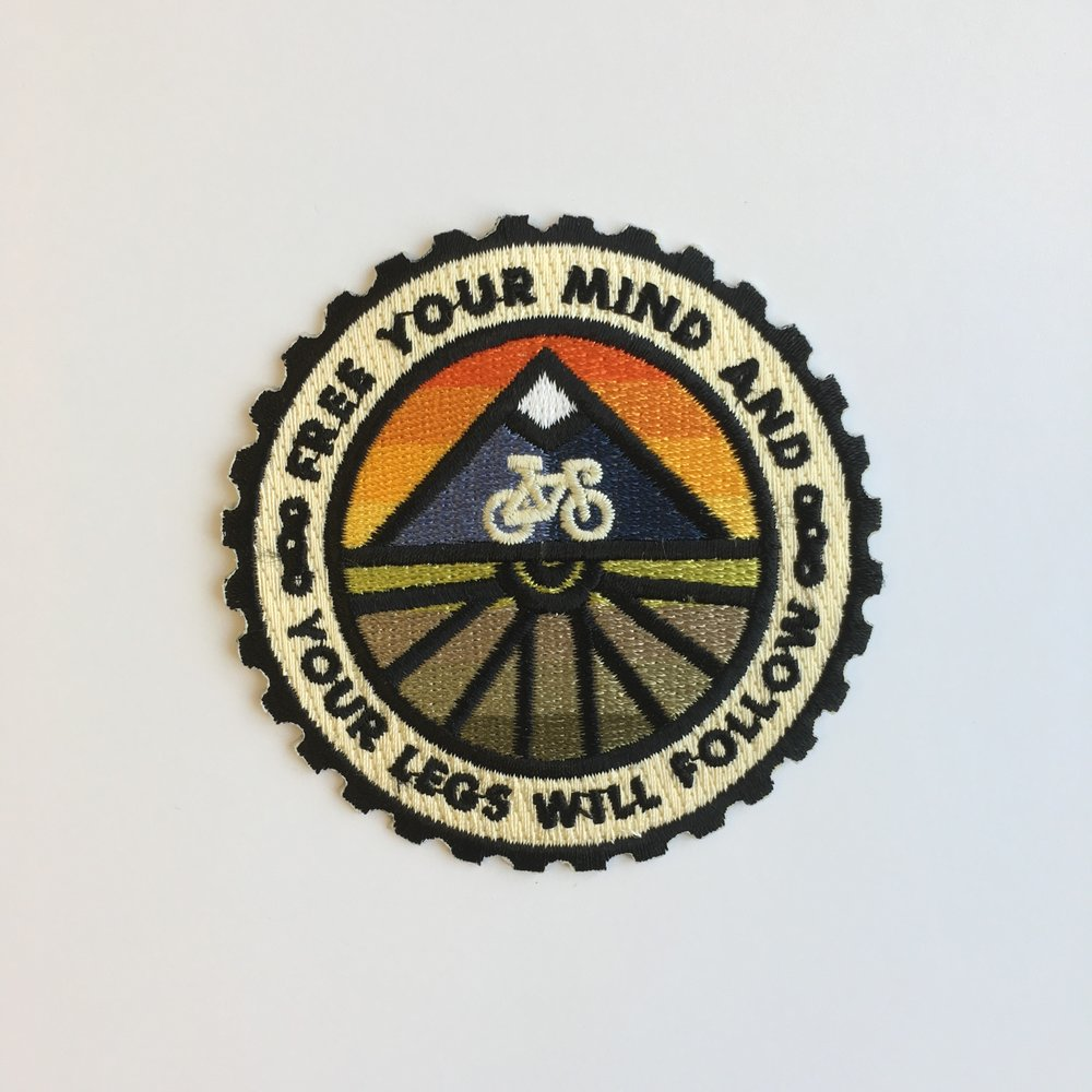 Velominati Badge Design: Patch | Shane Harris - Melbourne Florida Graphic Design