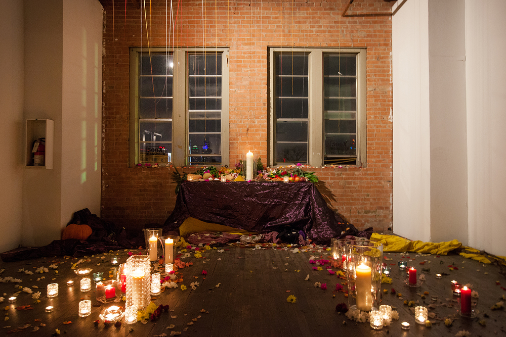 """Altar"" by Laura Garcia, Installation"