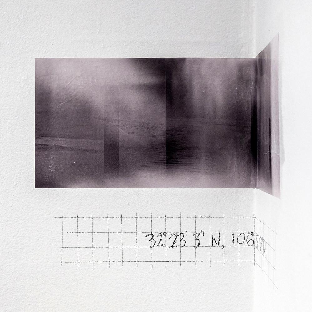 """Jessica Fuentes """"32°12'53""""N, 105°50'10""""W"""""""