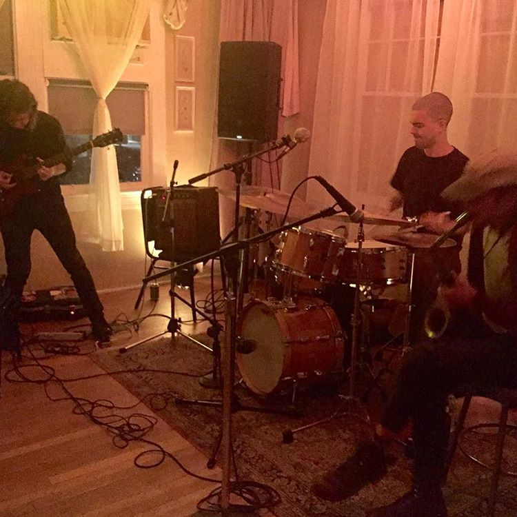 Lipscomb/Gilgore/McColm Trio at Rhizome DC (Photo from Instagram)