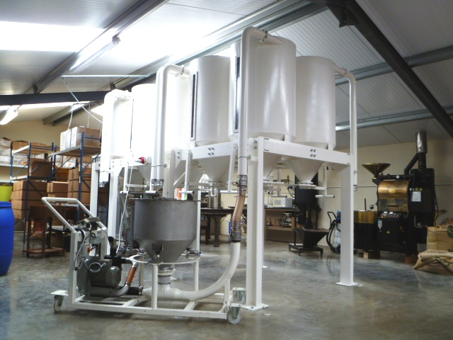 Coffee Blending System - Bespoke Equipment Fabrication