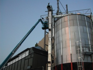 Biocorn milling grain handling Buttimer Engineering