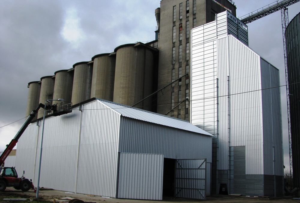Intake, Handling, Dryer and Strorage for Grains