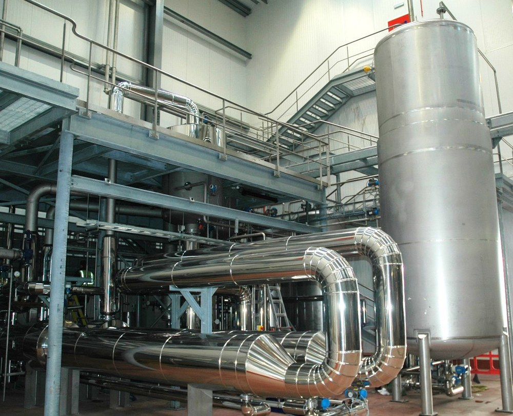 Manufacture & Installation of Stainless Steel Process Plant