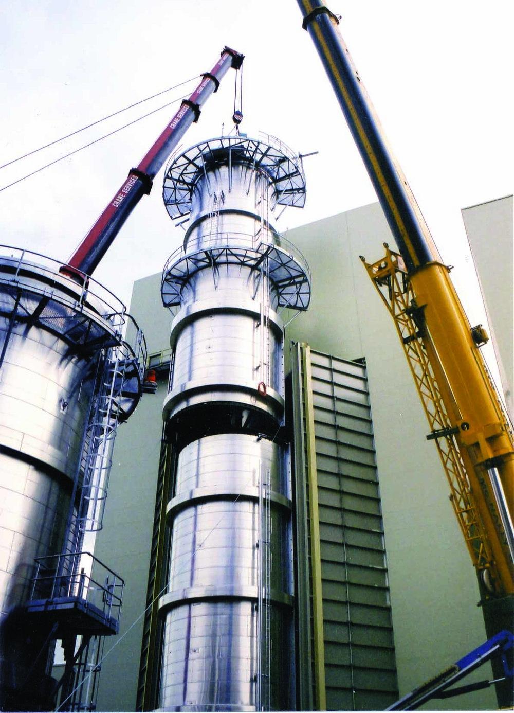 Fabrication & Erection of Exhaust Stacks