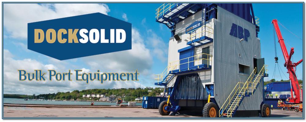 DOCKSOLID bulk port equipment hoppers mobile DML bulk terminal Buttimer Engineering