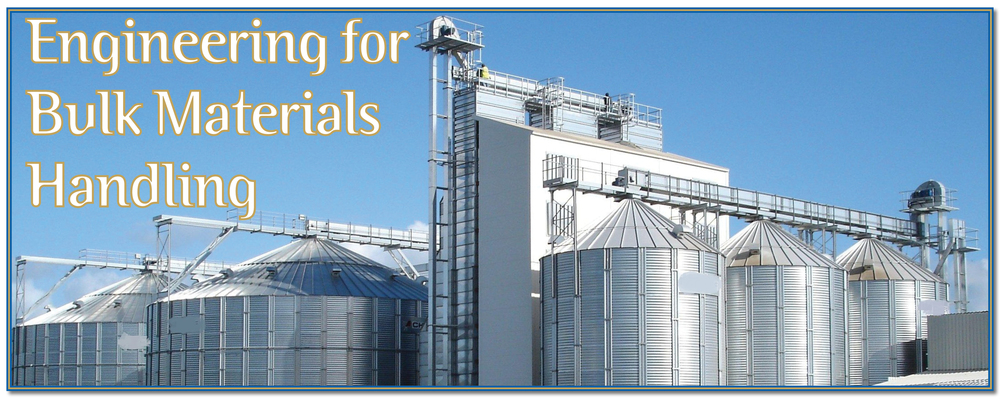 Bulk handling food grain storage design contracing EPC Buttimer Engineering