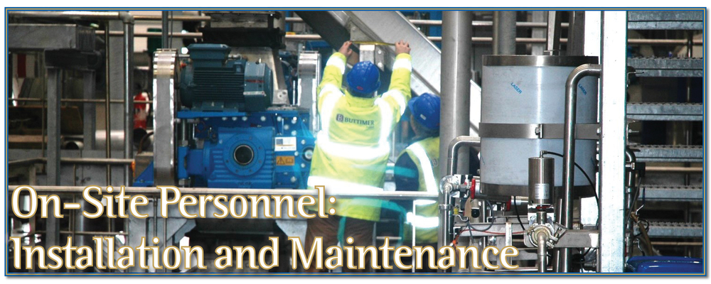 Mechanical engineers fitters contractors personnel Ireland UK Buttimer Engineering