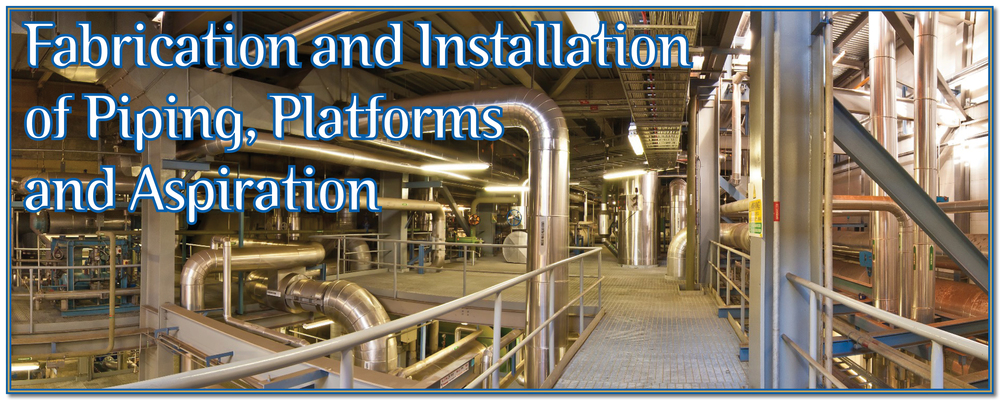 Buttimer Engineering Piping, platforms Stainless Steel fabrication Ireland