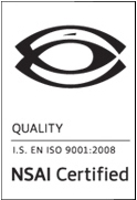 NSAI quality cert Buttimer Engineering ISO9001