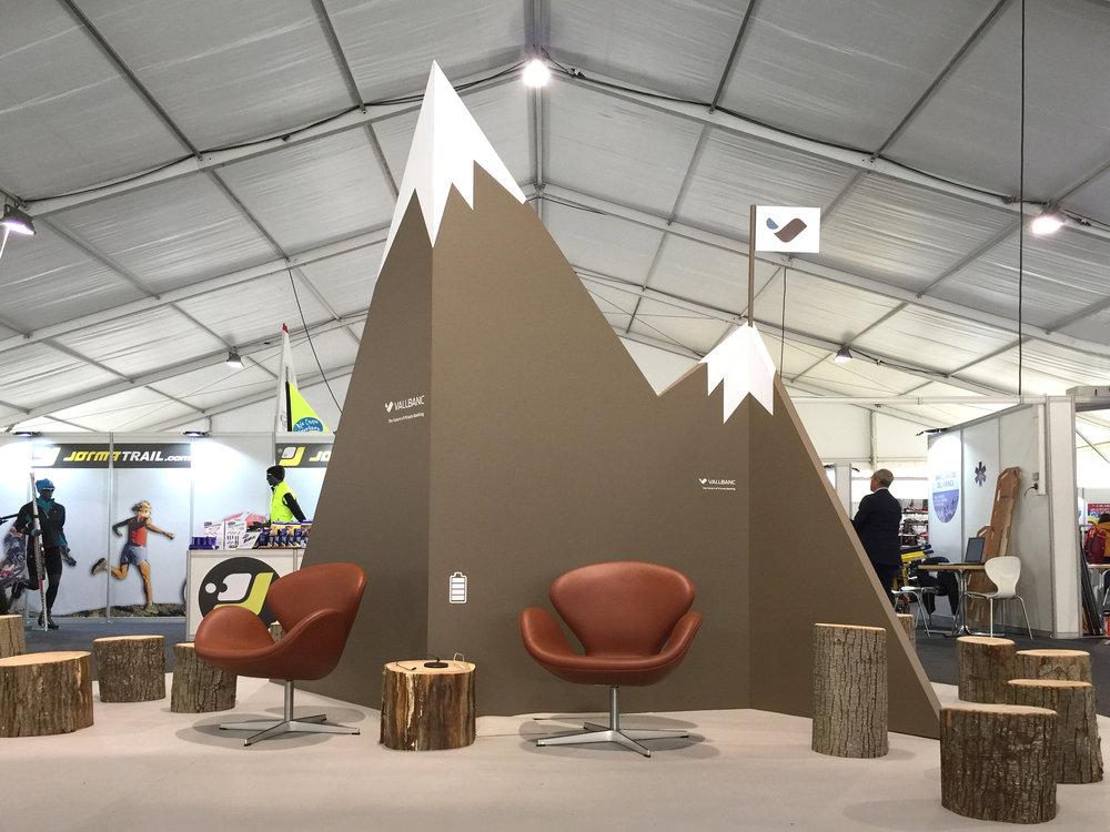 Presència corporativa de Vall Banc a Firesport 2017, Natura, Esport i Turisme de Muntanya.
