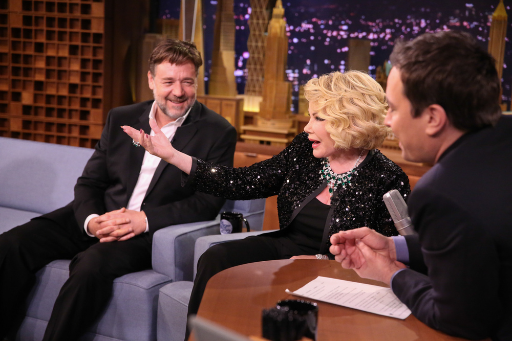 Joan Rivers & Russell Crowe