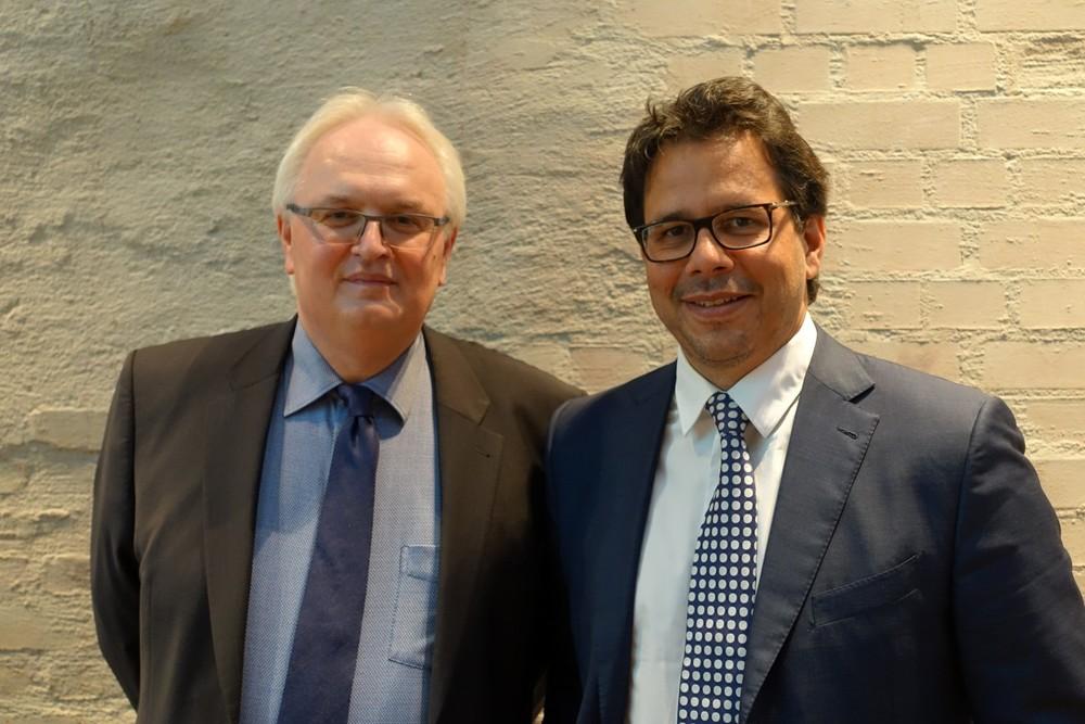 Dipl. - Pflegewirt Thorsten Müller und Jan P. Schabbeck, Rechtsanwalt und Fachanwalt für Medizinrecht