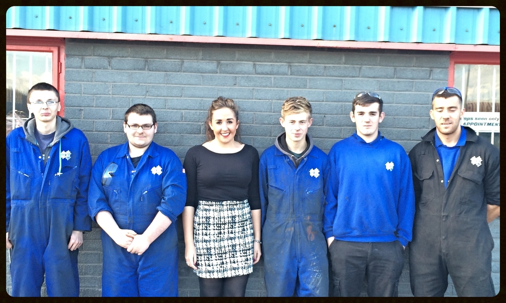 apprentice intake september 2014