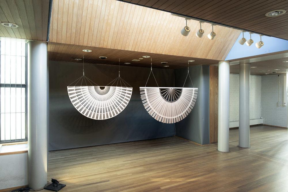 Rive Roshan at Big Art in Bijlmerbajes - former prison, Amsterdam