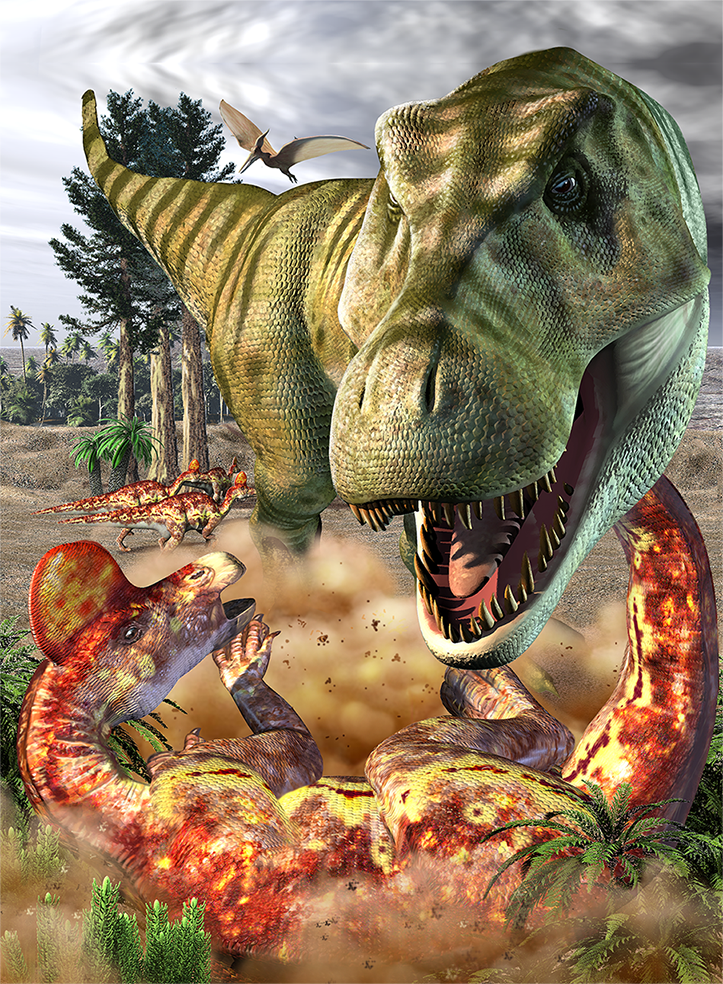 TRexandCorythrosaurus.png
