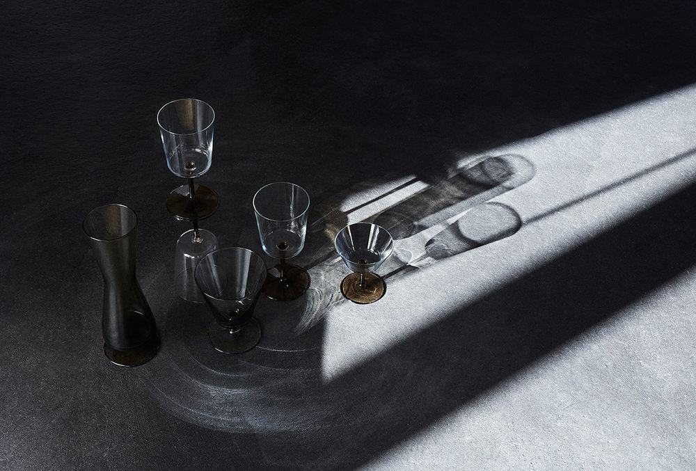 ABOUT GLASS, PHOTO: ANNE DEPPE, STYLING: ANNETTE DEBUS