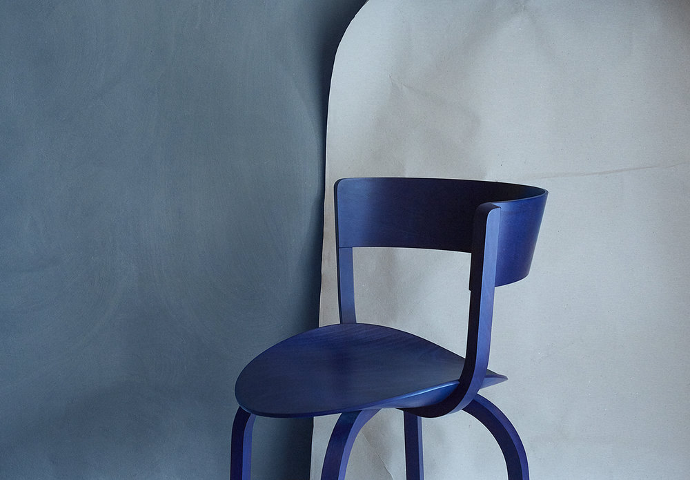 ANNE DEPPE PHOTOGRAPHY, Kuula Lamp by Uli Budde/ Thonet, 404 Chair by Stefan Diez/ Thonet
