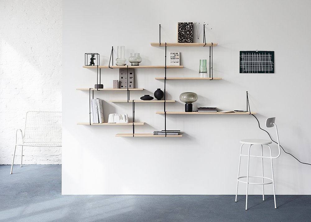"09 17  ""LINK"" SHELVING SYSTEM BY STUDIO HAUSEN  STYLING: NICI THEUERKAUF, Photo: Anne Deppe"