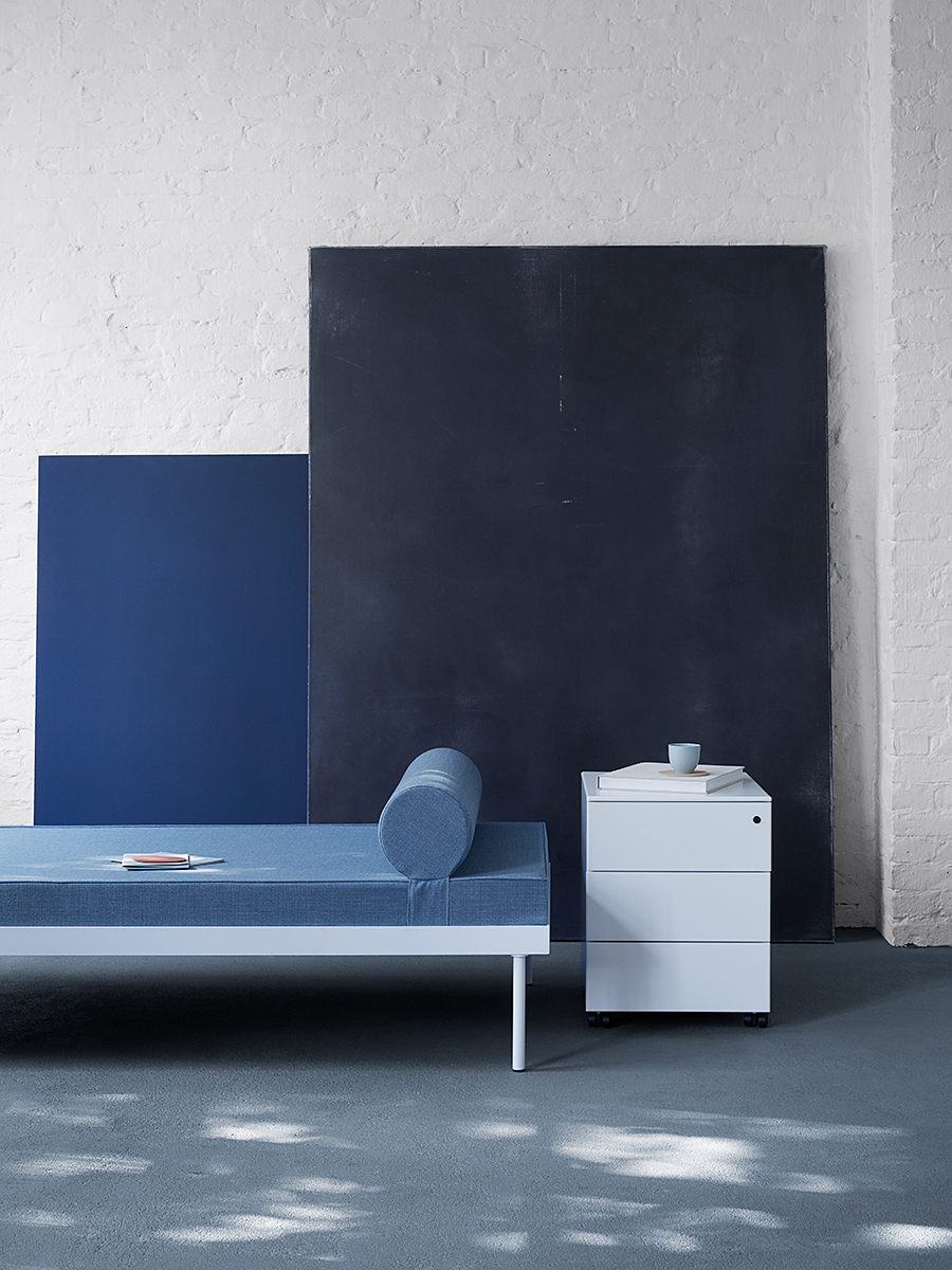 Hans Gugelot Daybed, habit interior, Photo: Anne deppe