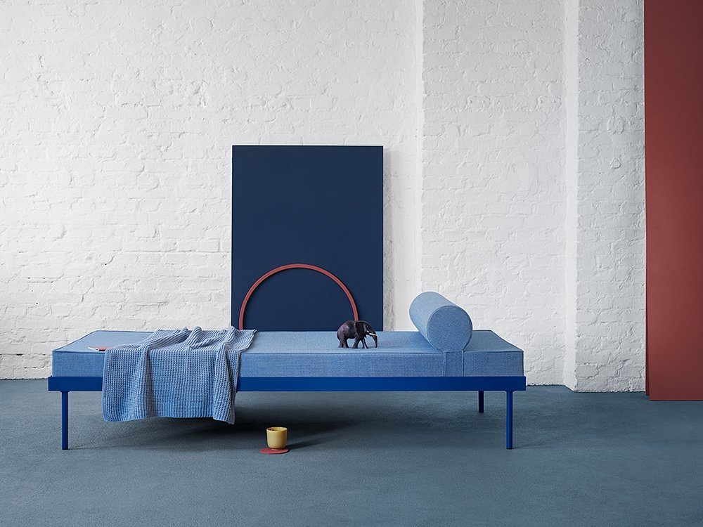 Hans Gugelot Daybed, habit interior, Photo: Anne Deppe