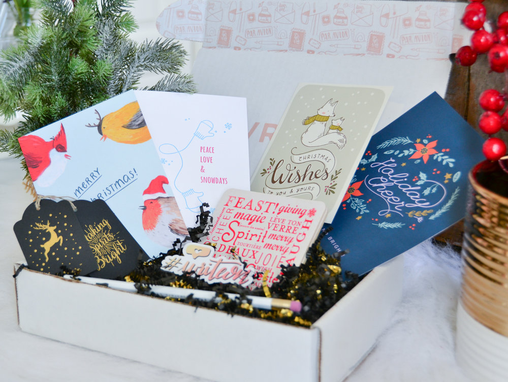 THE ONE-TIME MERRY BOX