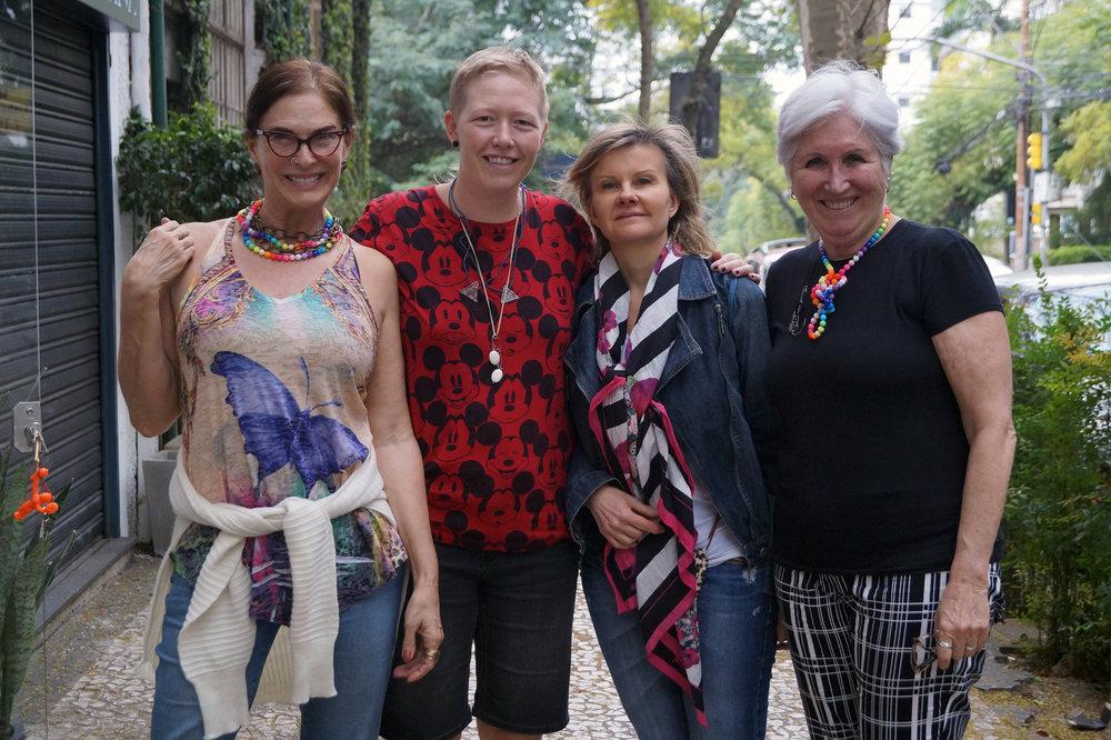 Mirian, me, Katia & Anelise