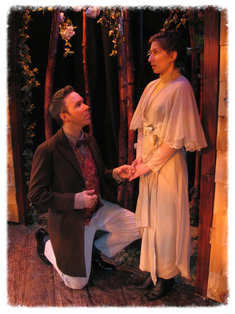 Gerry Lehane and Beth White, in The Cherry Orchard