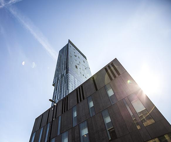 Beetham Tower, Manchester's tallest residential scheme