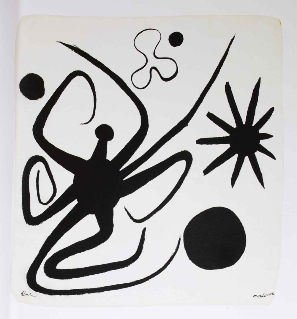 Another Calder - this one a headscarf/square.