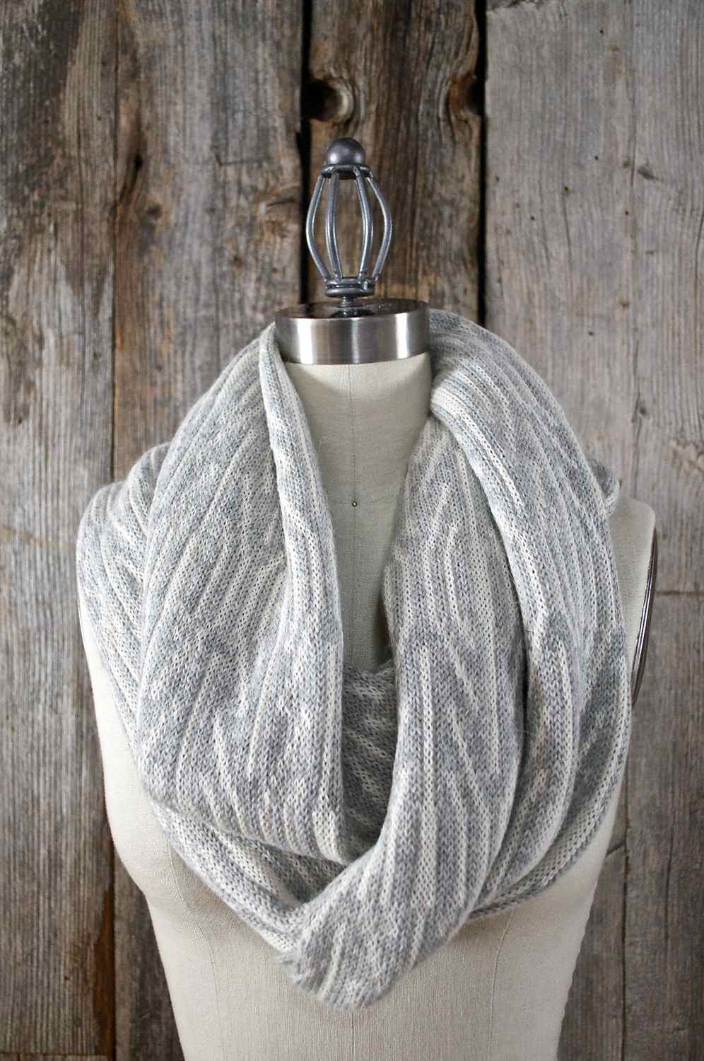 In the shop now - WINTER, an Infinity Scarf hand-loomed in the MORAY design using Peruvian Alpaca & Silk yarn.