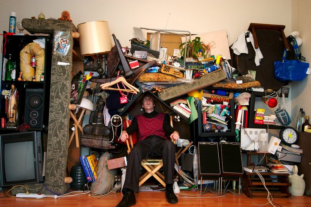When is is  junk  and when is it  clutter?