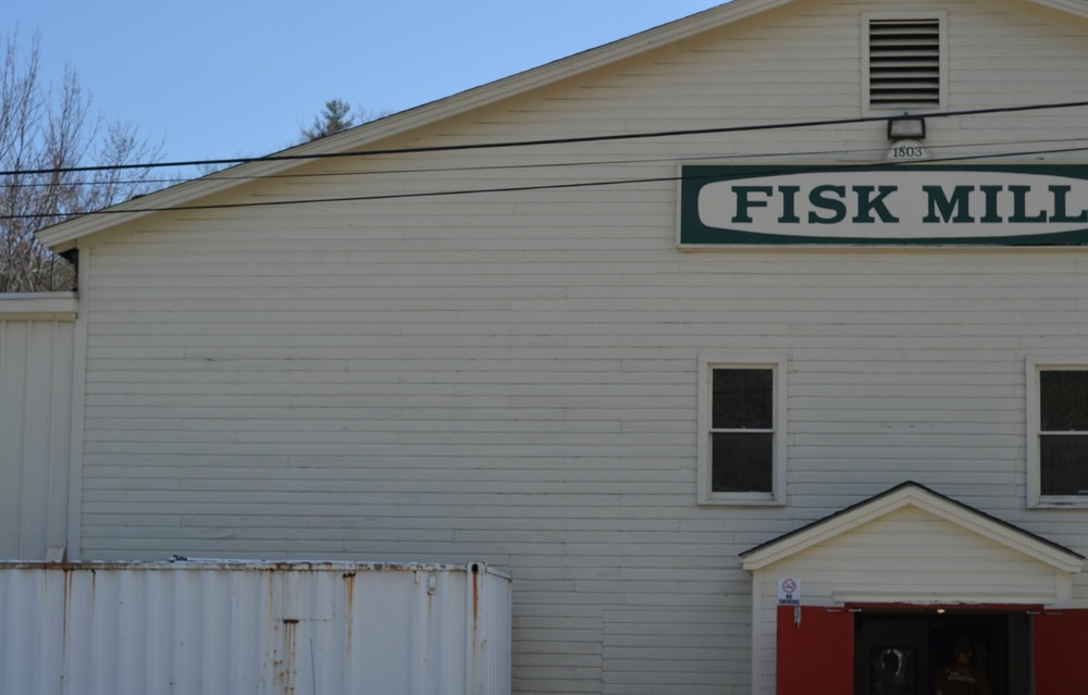 Where the magic happens... Fisk Mill, our print shop and dye house.