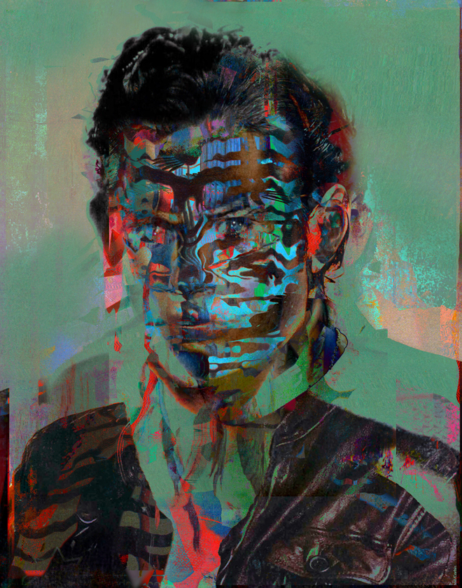 Untitled20150531p by Tchmo, Portrait of an Avatar Series