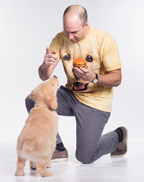 Golden Retriever Puppy Tee