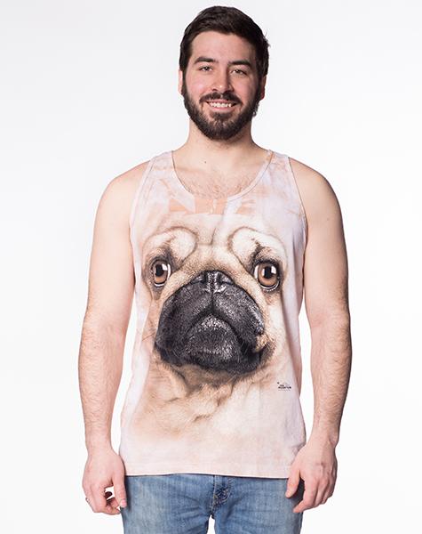 Big Face Pug Tank
