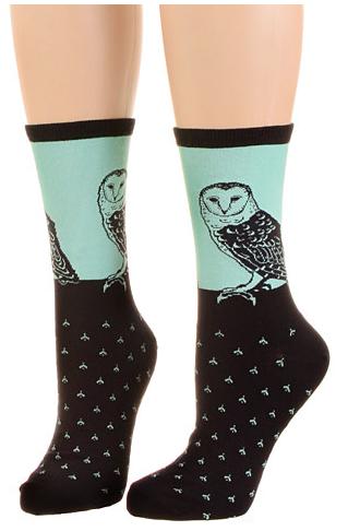 Platicland Owl Socks.png