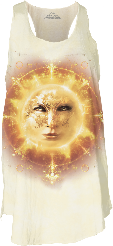 Sun Face Women's Flow Tank Top
