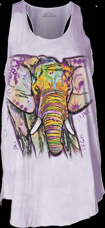 Russo Elephant Women's Flow Tank Top