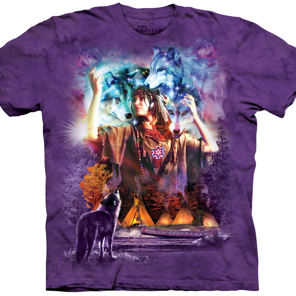 Harness Mom's inner Earth Goddess with this Spirit Maiden T-Shirt by Vincent Hie.